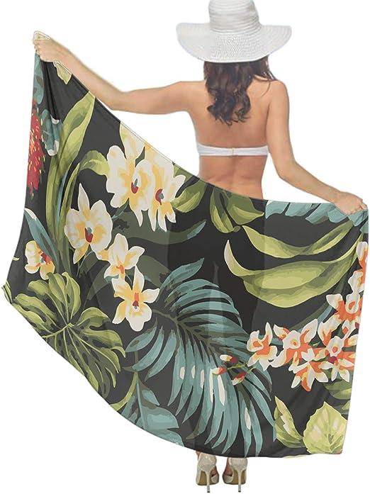 Amazon.com: Traje de baño con flores tropicales Hibiscus ...