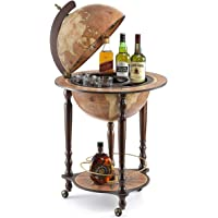 "Da Vinci ""Rust"" ""Made in Italy"" Bar Globe with Certificate of Authenticity (Rust)"