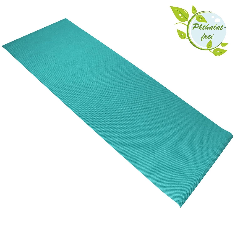 BB Sport Tapis de Yoga 183 cm x 61 cm x 0.4 cm en Diverse Couleurs antid/érapante et r/ésistante /à labrasion pour Gymnastique Pilates