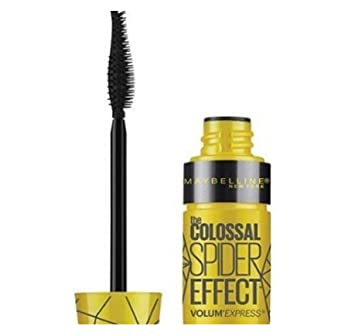Maybelline Volum Express The Colossal Spider Effect Waterproof Mascara, 222 Classic Black (Pack