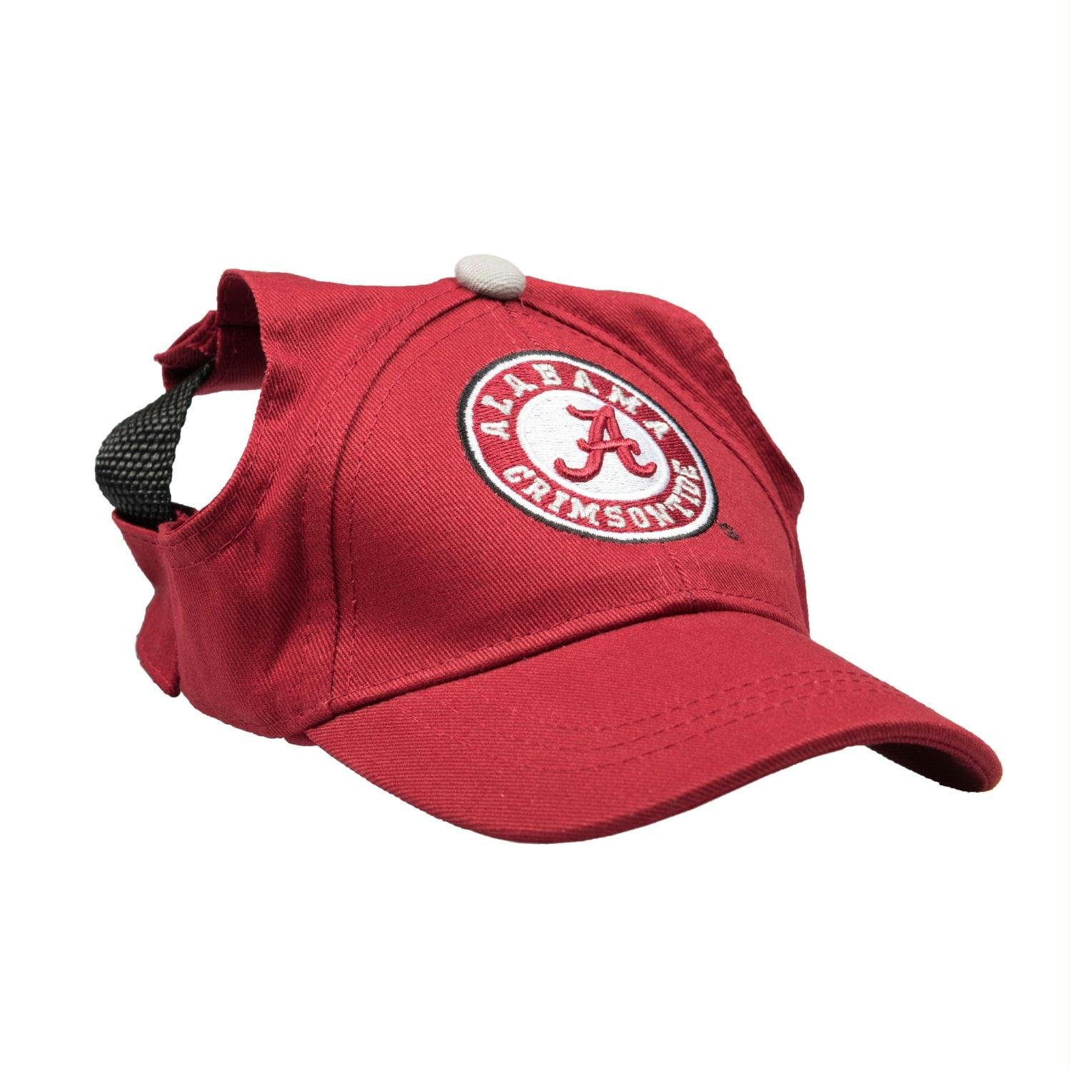 Alabama Crimson Tide Pet Baseball Hat - Medium