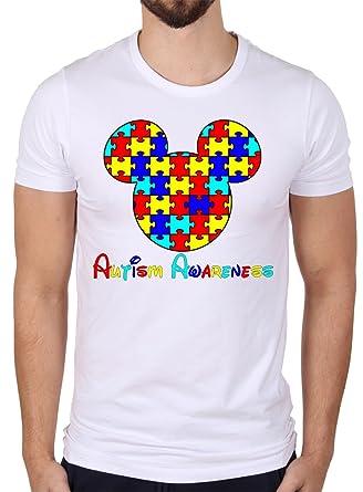 ce7120951 Autism Awareness Mickey Mouse Shirt | Amazon.com