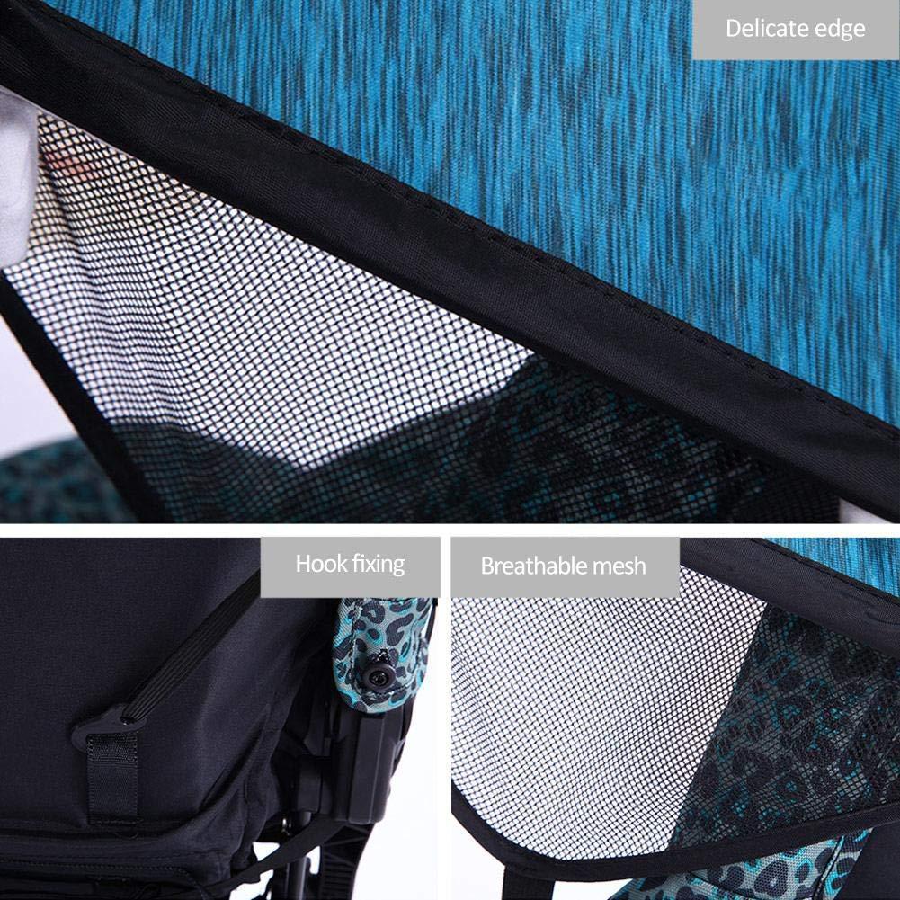 Blau Sonnenschutz f/ür Kinderwagen Universal Sonnensegel Sonnendach Baby Sonnenverdeck Sonnenschirm mit UV-Schutz f/ür Kinder Buggy Sportwagen