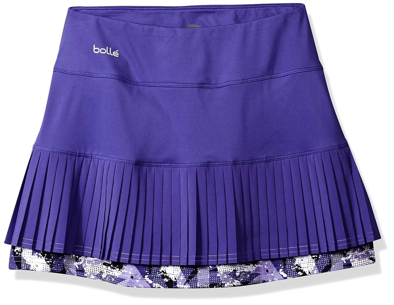 dba bolle/' PP-8697-P Purple Passion Dynamic Design Enterprise Inc Boll/é Purple Passion Multi-Pleat Tennis Skirt with Built in Short