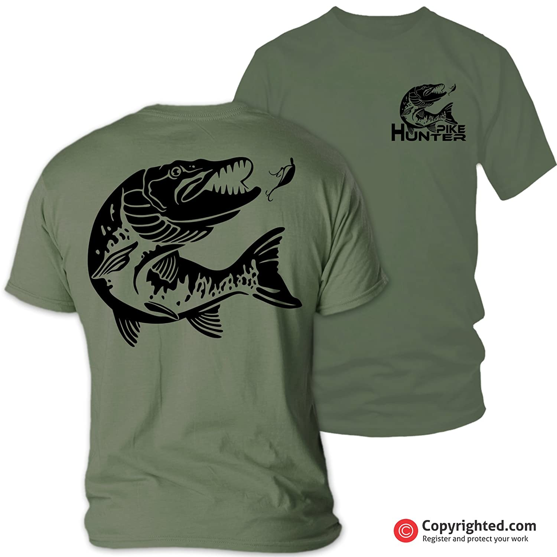Camiseta de Pesca QBEC Pike Hunter