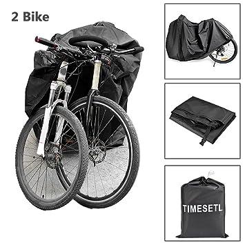 TIMESETL Fundas para Bicicletas Tafetán de Poliéster 210T ...