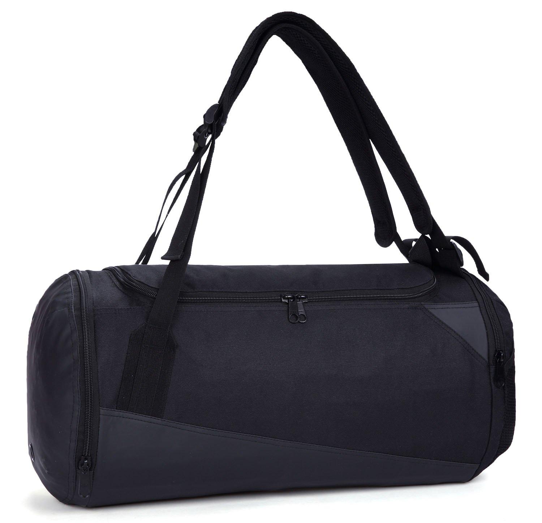 Mier, ligera bolsa de deporte o mochila con compartimento para las zapatillas, unisex, fondo impermeable, 35 L de capacidad, color negro: Amazon.es: ...