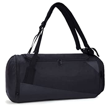 MIER Lightweight Gym Sports Bag Travel Duffel Backpack With Shoes Compartment For Men And Women