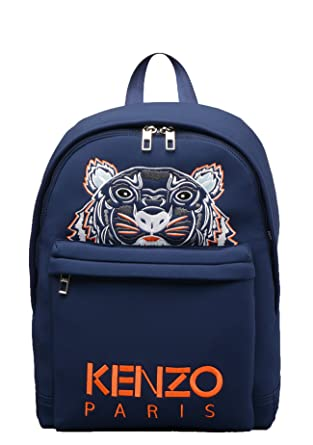 90a23c1b96 Kenzo- Mens 5SF300 Tiger Backpack in Blue: Amazon.co.uk: Clothing