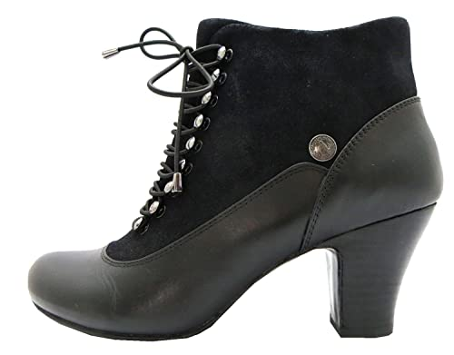 8cf40bb6ecd3 Size 10 Hush Puppies Women s Erika Lonna Leather Ankle Boots  Amazon.co.uk   Shoes   Bags