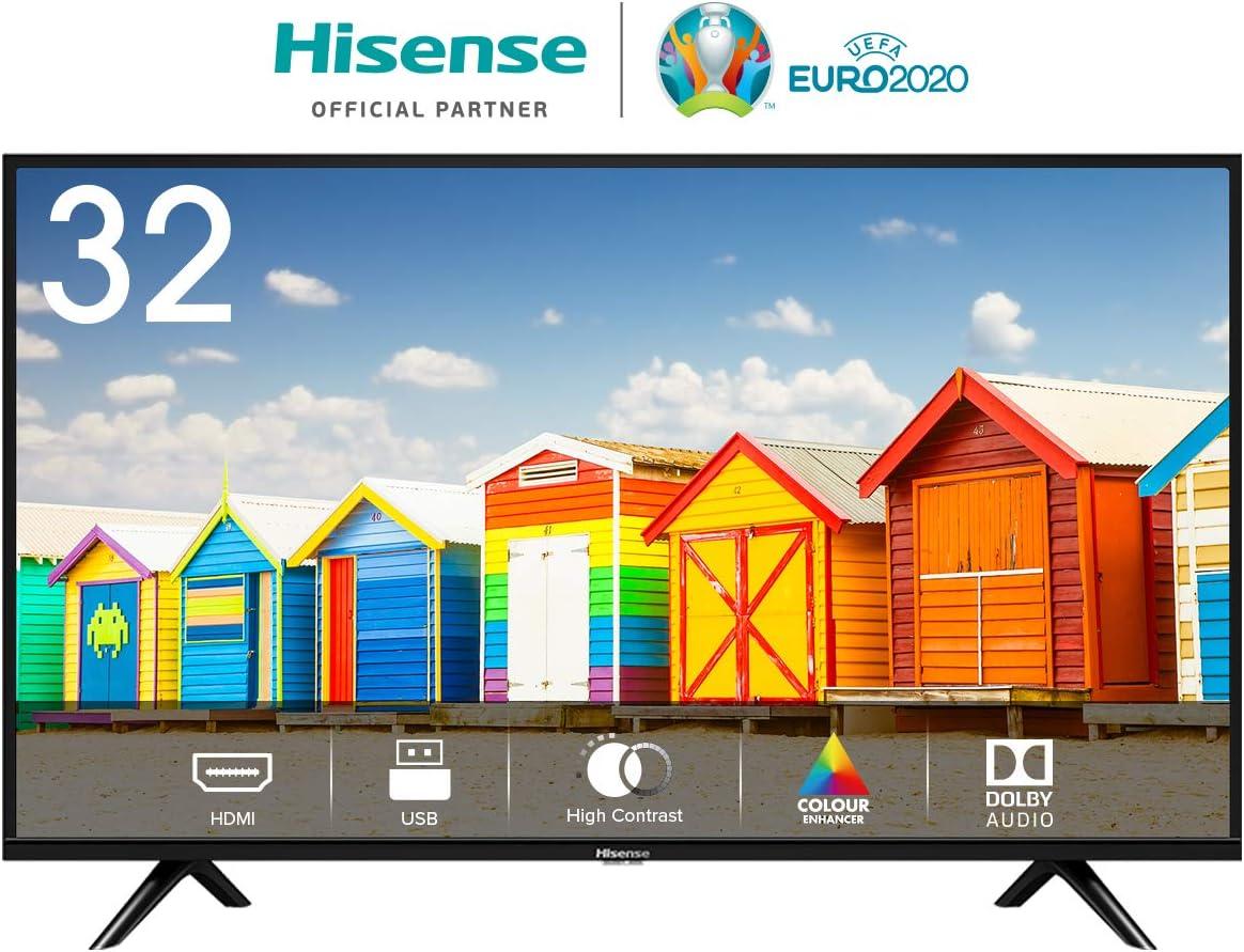Hisense H32BE5000 - TV LED 32 HD, 2 HDMI, 1 USB, Salida Óptica ...