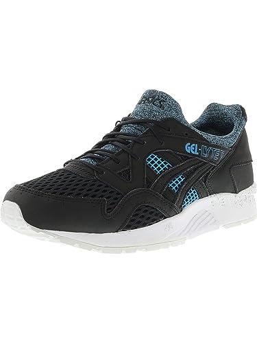 764eb2f0b287 ASICS Men s Gel-Lyte V Black Blue Ankle-High Running Shoe - 8.5