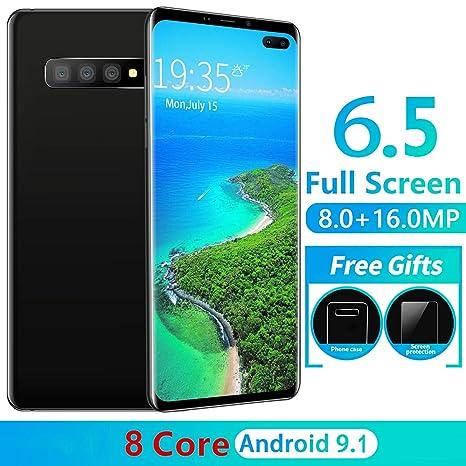 L-PH Teléfono Desbloqueado Tarjeta SIM Doble Android 9.1 ...