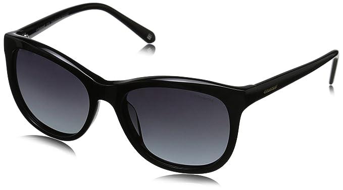 6a010464ae7 Polaroid Sunglasses Women's Pld4004s Wayfarer, Black & Gradient Shaded  Polarized, ...