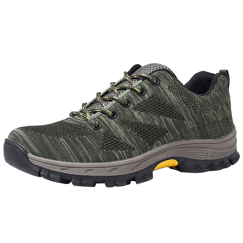 Chaussure Embout de et Sécurité s3 Chaussures de Travail avec Embout Vert de Protection en Acier et Semelle de Protection pour Homme Femme Vert d4868e5 - boatplans.space