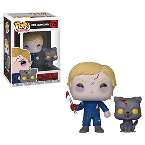 Funko Popamp; SemataryUndead Gage Figure37628Multi Church Collectible Buddy VinylPet oerdCxB