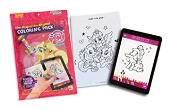 Painting Lulu My Little Pony Coloring Book with 32 Paper to ...