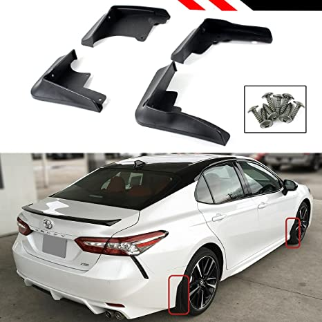 Toyota Camry Sport >> Cuztom Tuning Fits For 2018 Toyota Camry Se Xse Sport 4 Pieces Front Rear Splash Guard Mud Flap Set