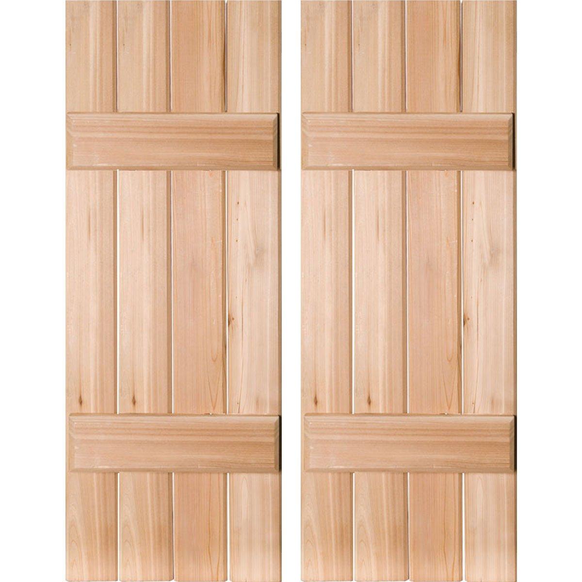 Ekena Millwork RWB15X038UNP Exterior Four Board