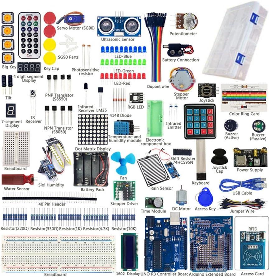 sunhokey uno r3 kit de iniciación para RFID Sensor nivel de agua ...