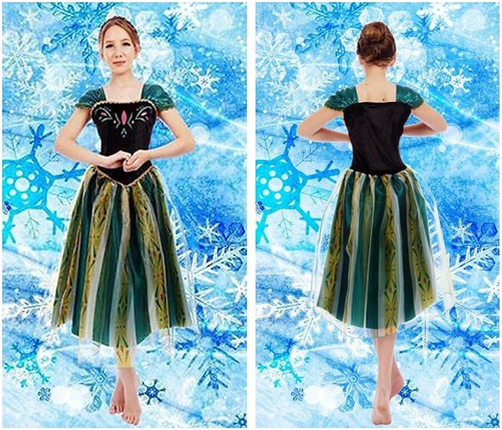 kuisen Princess Costume Adult Women Girls Kids Coronation Dress Costume