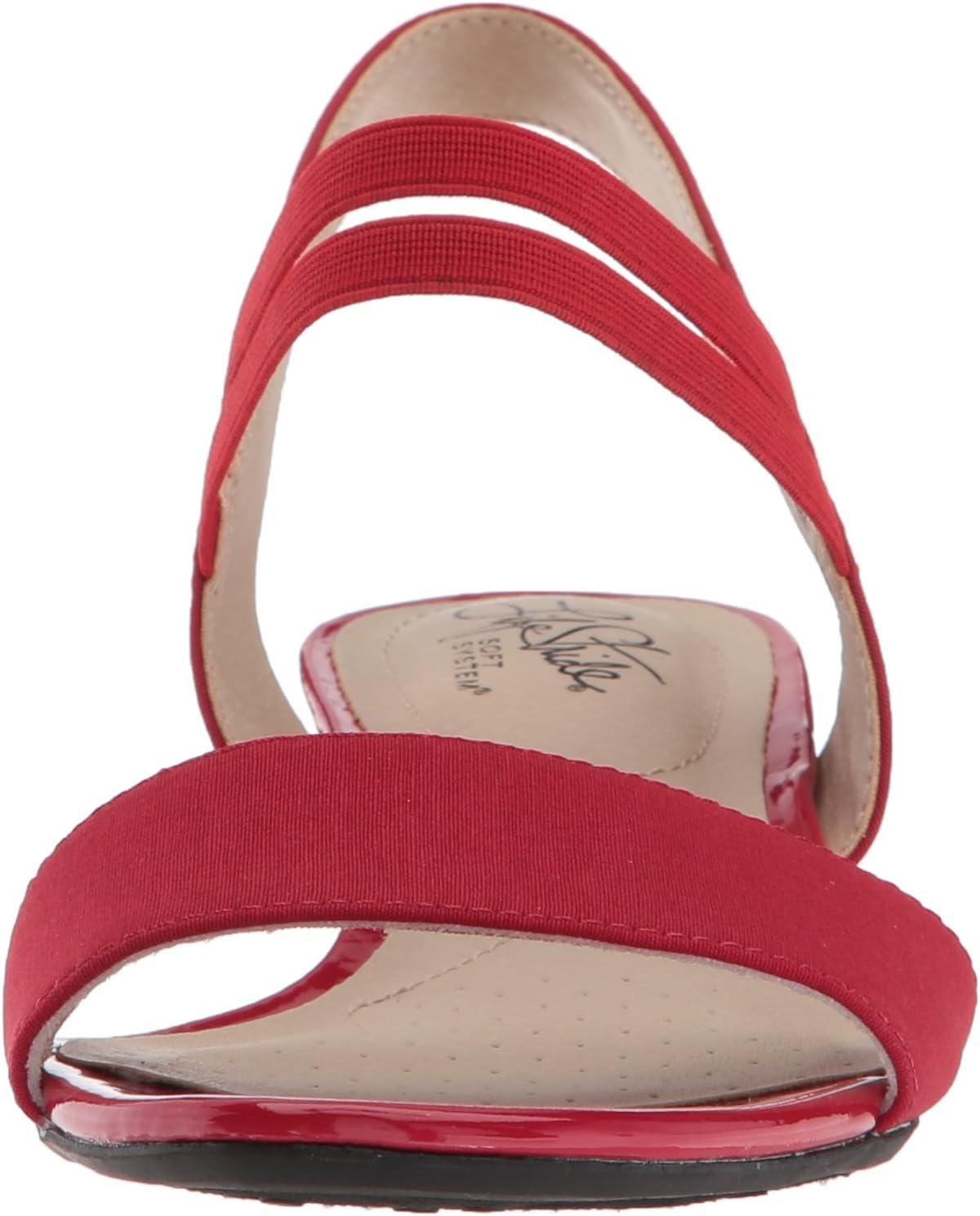 LifeStride dames Yolo wig sandaal Rood