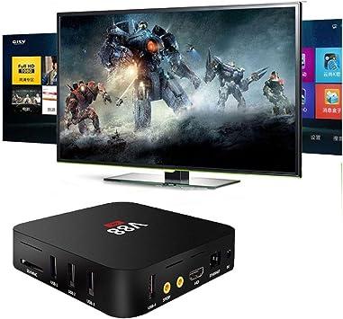 coloré (TM) V88 Android 5.1 Quad Core Mini PC inteligente Google TV Box para Android Smart TV: Amazon.es: Electrónica