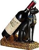 [POWIITEM] 神秘 黒猫 ワインホルダー コンチネンタル 猫神モチーフ [送料込・ポイント付き]