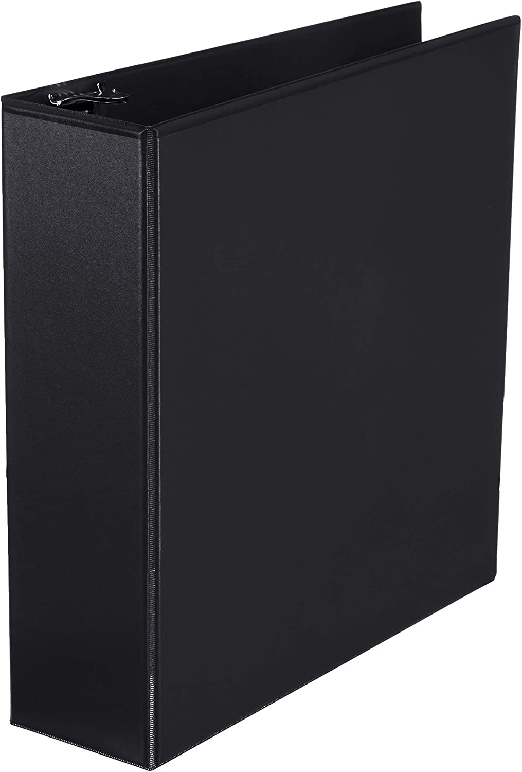 AmazonBasics 3-Inch Round Ring Binder, Black, View, 12-Pack
