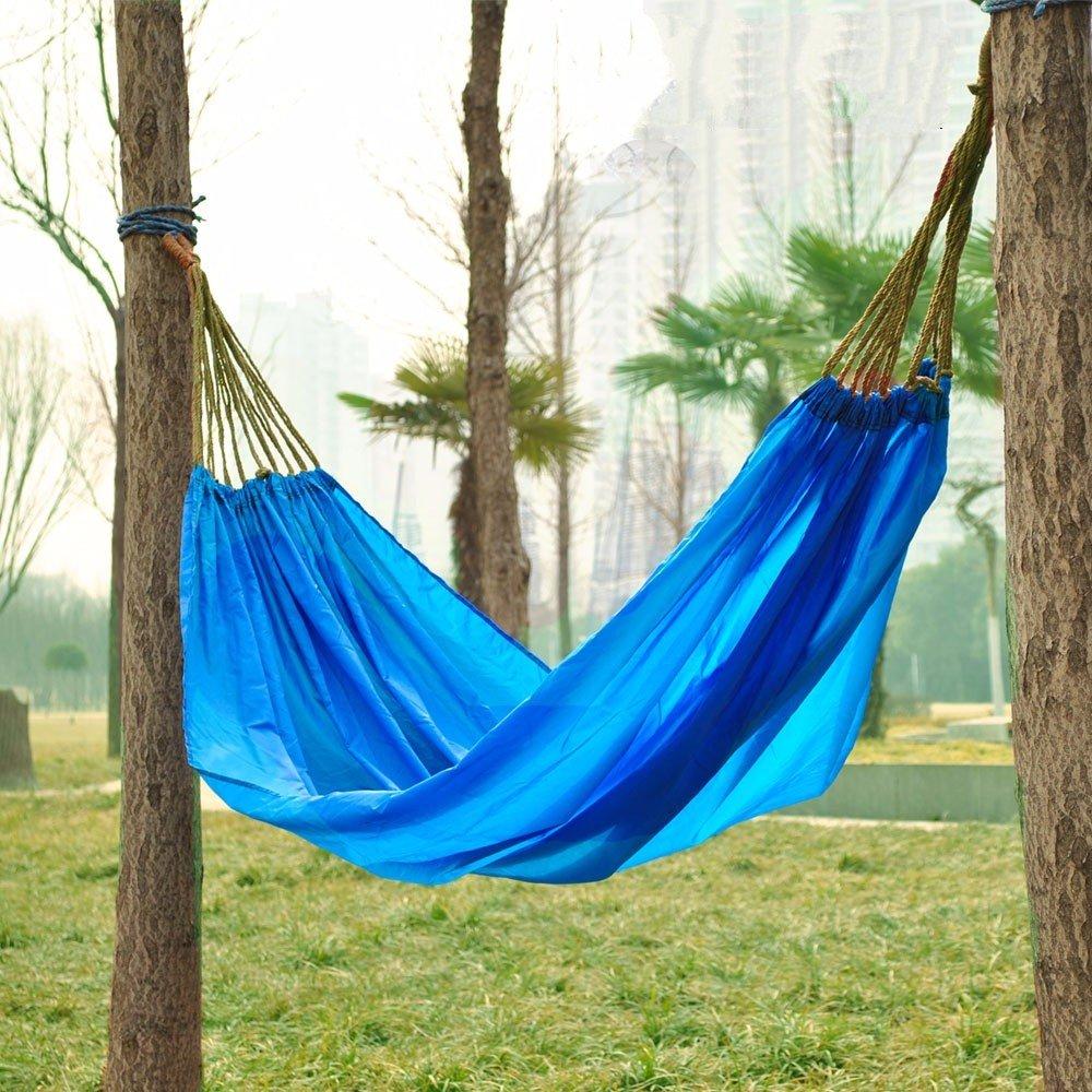 SUHANG Hängematte Outdoor Freizeit Camping Reisen Mit Einer Hand Die Portable Indoor Schwingen Hängematten Alle Hängematten