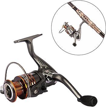 Plusinno® Serie HONGYING Carretes de pesca spinning Agua dulce ...