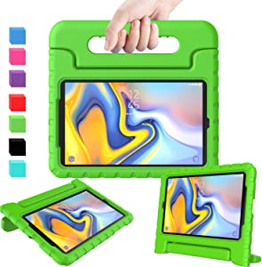 AVAWO Case for Samsung Galaxy Tab A 8.0 2018 SM-T387, Shock Proof Convertible Lightweight Super Protective Handle Stand Kids Case for Samsung Galaxy Tab A 8.0 2018 Tablet(SM-T387), Green