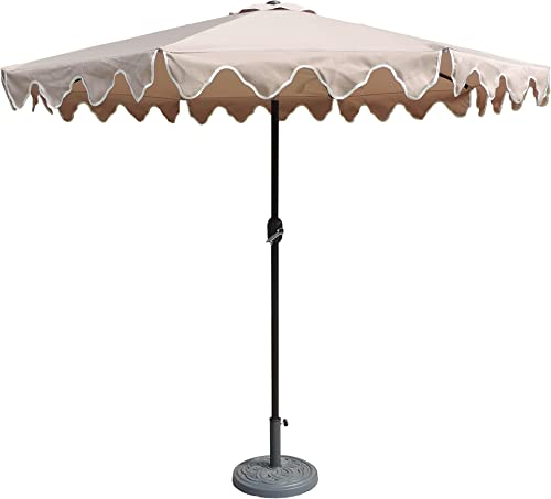 Pebble Lane Living JCU-1003SC-TAN Patio Umbrella