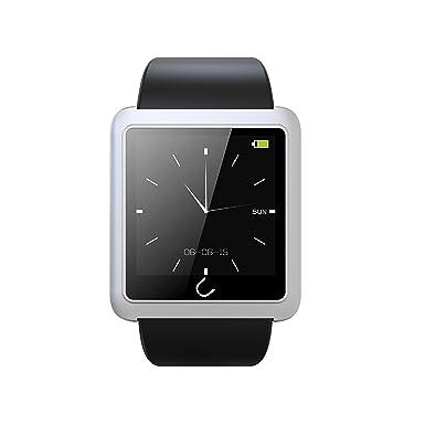 Reloj inteligente, Uwatch U10L Bluetooth 4.0 Podómetro brújula SMS Nota Sleep vigilancia Smart deporte reloj