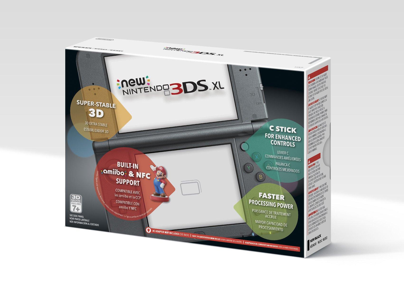Nintendo New 3DS XL - Black by Nintendo (Image #3)