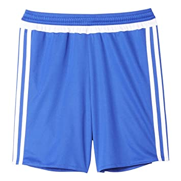 e0932a81f adidas MLS 15 Match Youth Soccer Short L Bold Blue White