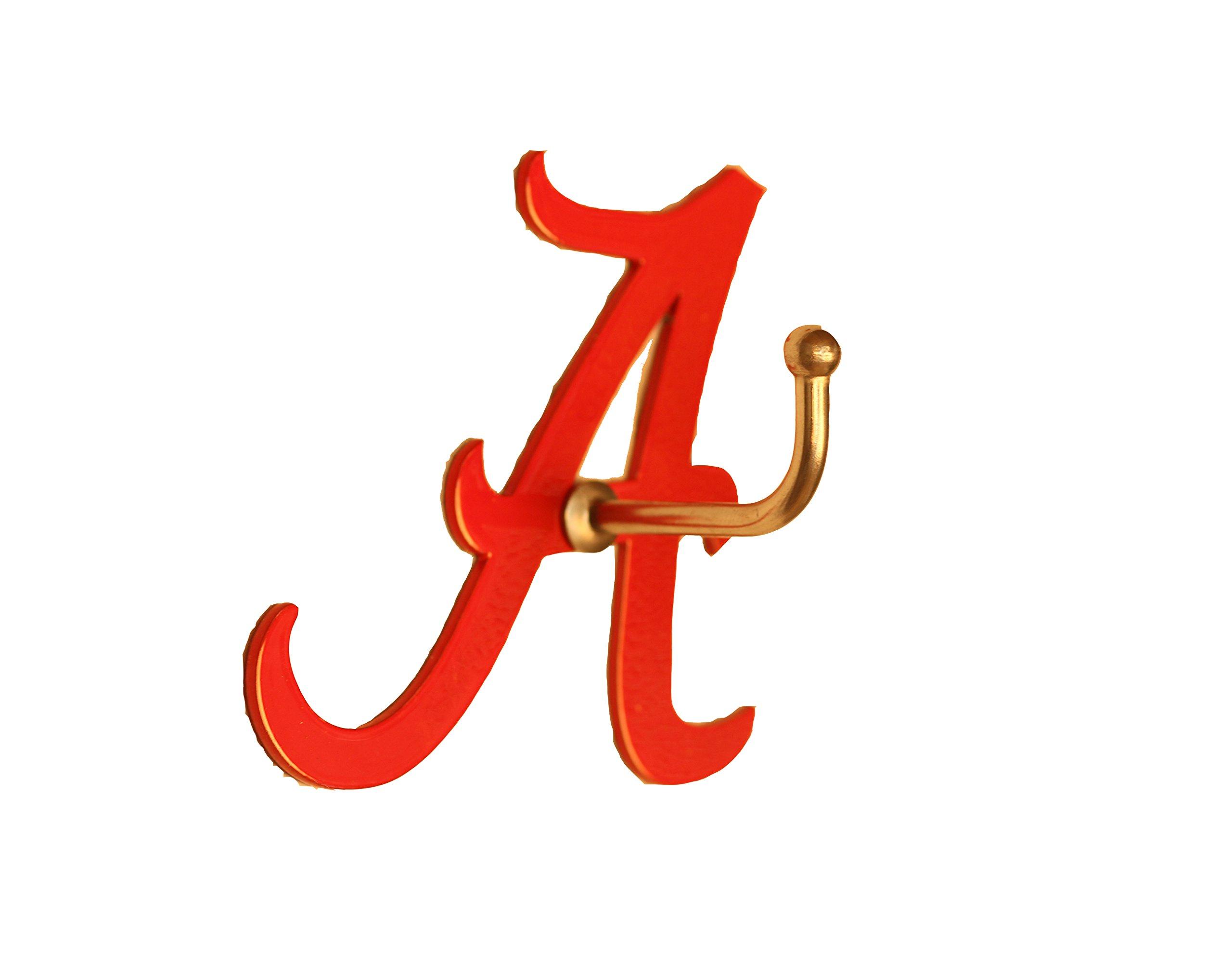 Henson Metal Works Alabama Collegiate Medium Color Logo Wall Hook