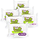 Hand, Face and Nose Wet Wipes for Kids and Baby, Boogie Wipes, Alcohol Free, Unscented, Wipes Away Dirt and Germs, Soft…