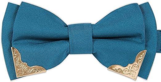 Trajes azules de los hombres de negocios de alto grado corbata ...