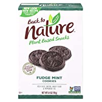 Deals on Back to Nature Cookies Non-GMO Fudge Mint 6.4oz