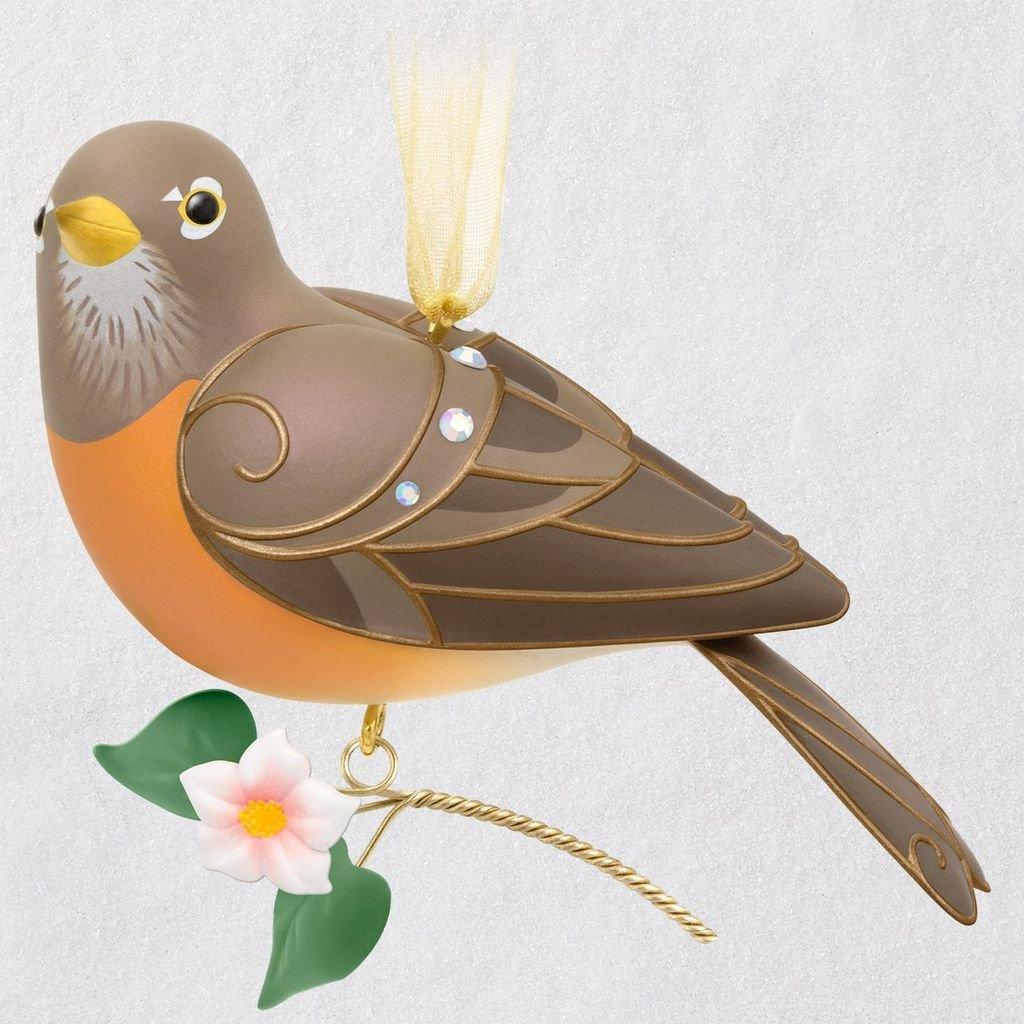 Hallmark Keepsake Ornament 2018 Lady Robin The Beauty of Birds Limited Edition
