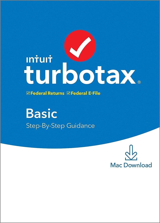 TurboTax Basic 2019 Tax Software [Mac Download]