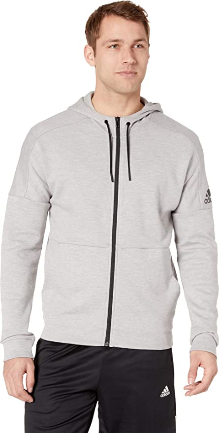 nice shoes detailed images biggest discount Amazon.com: adidas Id Stadium Full-Zip Hooded Sweatshirt ...