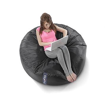 Pleasing Big Hug Huddle Bean Bag 125Cm X 35Cm Black Amazon Co Uk Ocoug Best Dining Table And Chair Ideas Images Ocougorg