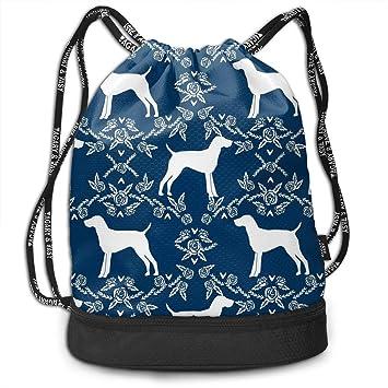 61f4c10c73ea German Shorthair Pointer Dog Drawstring Sack Swim Sport Cinch Sackpack  Large Capacity Beam Backpack, Home Travel Storage Use Gift For Men & Women,  ...