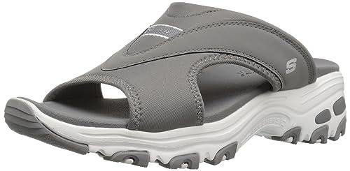 Skechers Cali Womens DLites-Retro Vibe Slide Sandal ...