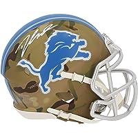 $149 » D'Andre Swift Detroit Lions Autographed Riddell CAMO Alternate Speed Mini Helmet - Autographed College Mini Helmets