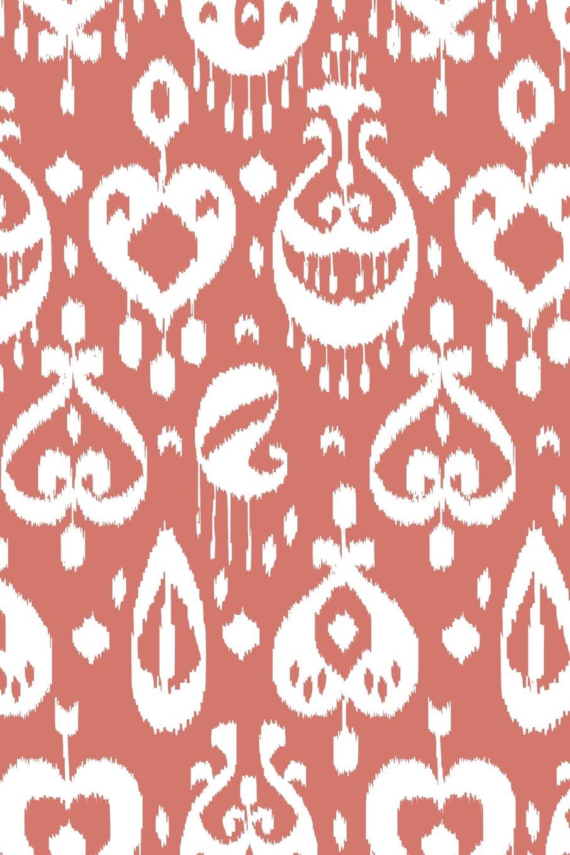 Asian Design Notebook: Salmon: Notebook 6 x 9, Notebook for Girls, Notebook Journal, Notebook College Ruled, Notebook 1 Subject, Notebook Ruled pdf