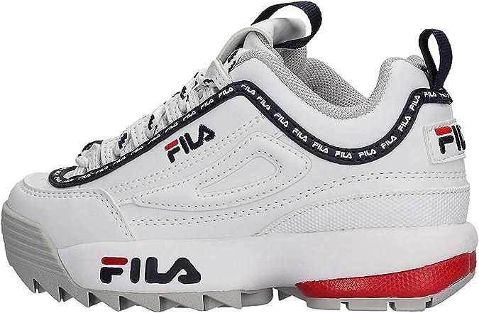 FILA Zapatos Mujer Zapatillas Bajas 1010302.70Y Disruptor Low WMN: MainApps: Amazon.es: Zapatos y complementos