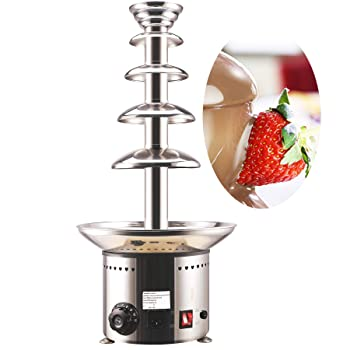 CO-Z 5-Tier Heated Chocolate Fondue Fountain